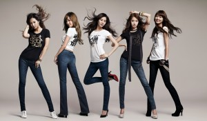 SNSD_Jeans_Girl_Models_Wallpaper